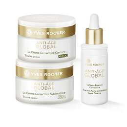 Sett - Anti-Age Global, Serum, Dagkrem, Nattkrem