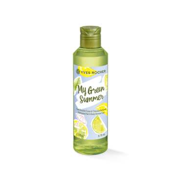 My Green Summer Perfumed Hair and Body Shower Gel