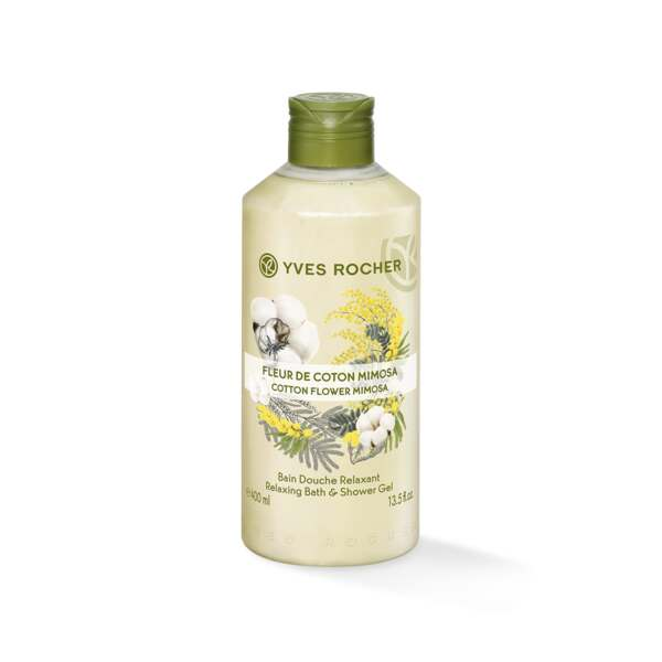 Dusjgelé - Cotton flower Mimosa 400 ml