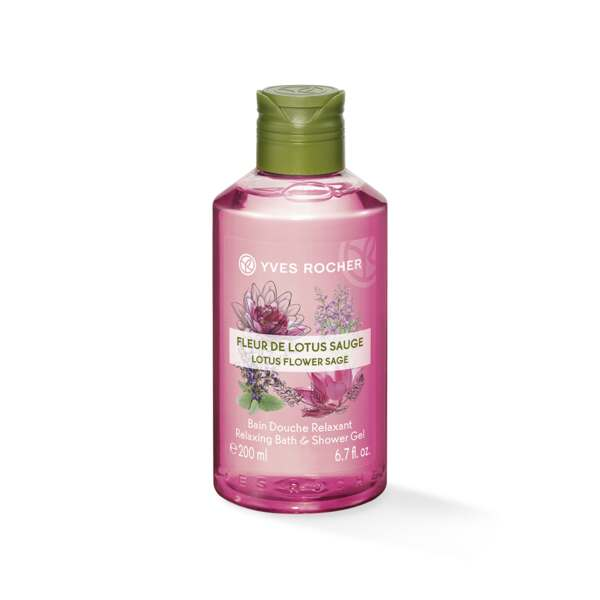 Dusjgelé - Lotusblomst, Salvie 200 ml