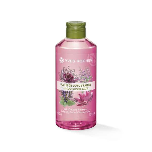 Dusjgelé - Lotusblomst, Salvie 400 ml