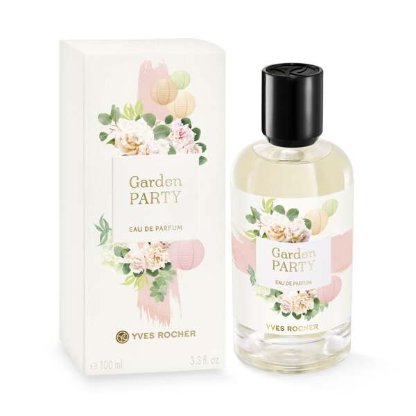 Eau de Parfum - Garden Party, rose, grønnmynte, 100 ml