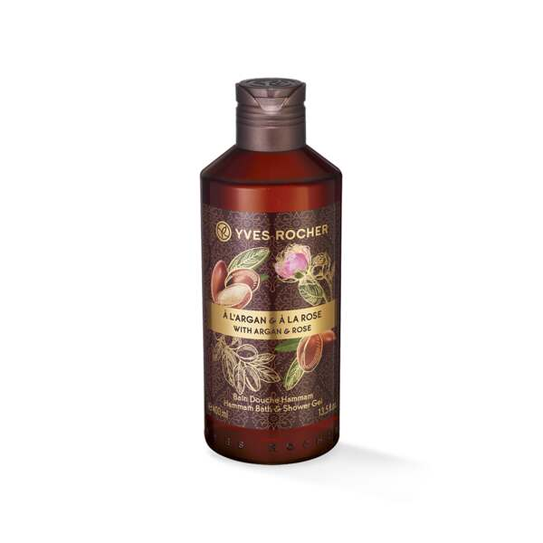 Dusjgelé - Argan, rose, 400 ml