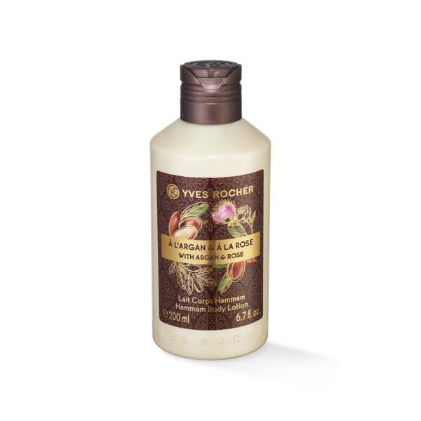 Bodylotion - Mild, argan, rose, 200 ml