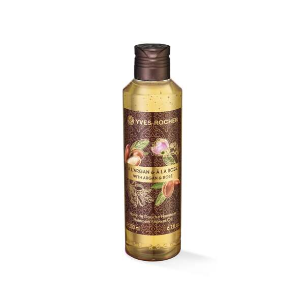Dusjolje - Argan, rose, 200 ml